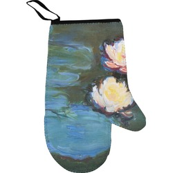 Water Lilies #2 Right Oven Mitt