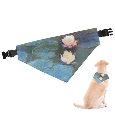 Water Lilies #2 Dog Bandana