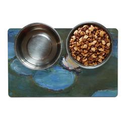 Water Lilies #2 Dog Food Mat