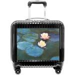 Water Lilies #2 Pilot / Flight Suitcase