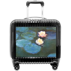 Water Lilies #2 Pilot / Flight Suitcase