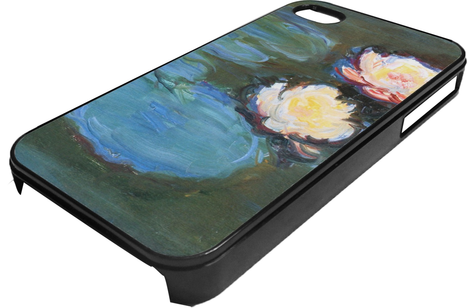 Water Lilies 2 Plastic 4 4s Iphone Case Youcustomizeit