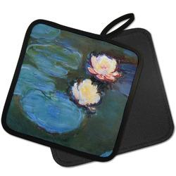 Water Lilies #2 Pot Holder