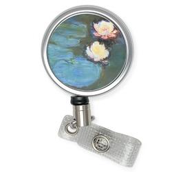 Water Lilies #2 Retractable Badge Reel