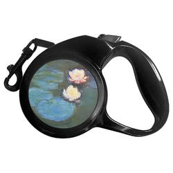 Water Lilies #2 Retractable Dog Leash