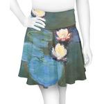 Water Lilies #2 Skater Skirt
