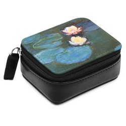 Water Lilies #2 Small Leatherette Travel Pill Case