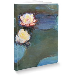 Water Lilies #2 Softbound Notebook