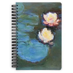 Water Lilies #2 Spiral Bound Notebook