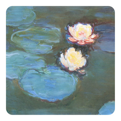 Water Lilies #2 Square Decal