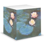 Water Lilies #2 Sticky Note Cube