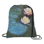 Water Lilies #2 Drawstring Backpack