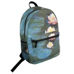 Water Lilies #2 Student Backpack