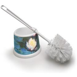 Water Lilies #2 Toilet Brush