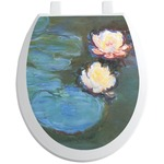 Water Lilies #2 Toilet Seat Decal