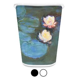 Water Lilies #2 Waste Basket