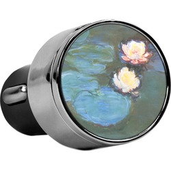 Water Lilies #2 USB Car Charger