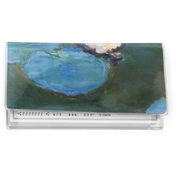 Water Lilies #2 Vinyl Checkbook Cover