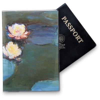 Water Lilies #2 Vinyl Passport Holder