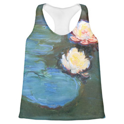 Water Lilies #2 Womens Racerback Tank Top