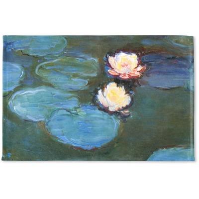 Water Lilies #2 Woven Mat