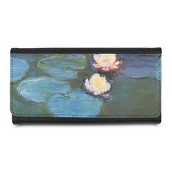Water Lilies #2 Leatherette Ladies Wallet