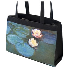 Water Lilies #2 Zippered Everyday Tote