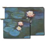 Water Lilies #2 Zipper Pouch