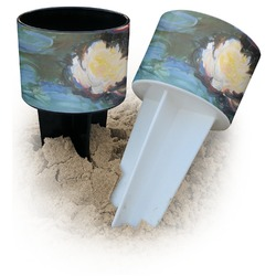 Water Lilies #2 Beach Spiker Drink Holder