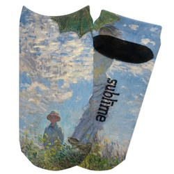 Promenade Woman by Claude Monet Adult Ankle Socks