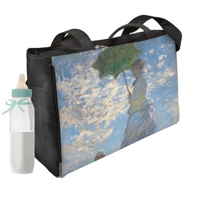 Promenade Woman by Claude Monet Diaper Bag