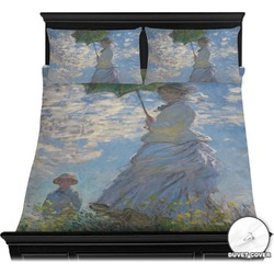 Promenade Woman by Claude Monet Duvet Covers