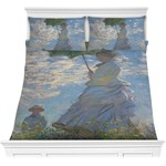 Promenade Woman by Claude Monet Comforters