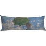 Promenade Woman by Claude Monet Body Pillow Case