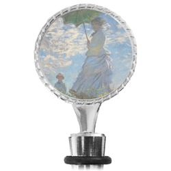 Promenade Woman by Claude Monet Wine Bottle Stopper