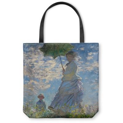 Promenade Woman by Claude Monet Canvas Tote Bag