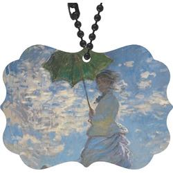 Promenade Woman by Claude Monet Rear View Mirror Decor
