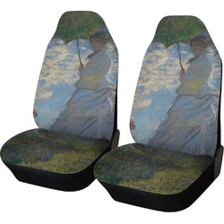 Promenade Woman by Claude Monet Car Seat Covers (Set of Two)