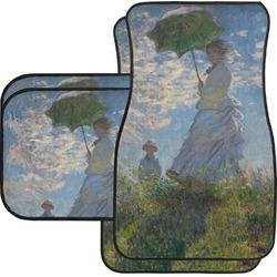 Promenade Woman by Claude Monet Car Floor Mats