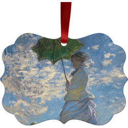 Promenade Woman by Claude Monet Ornament