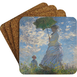 Promenade Woman by Claude Monet Coaster Set