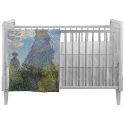 Promenade Woman by Claude Monet Crib Comforter / Quilt