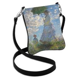 Promenade Woman by Claude Monet Cross Body Bag - 2 Sizes