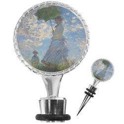 Promenade Woman by Claude Monet Wine Bottle Stopper