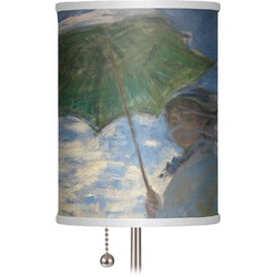 "Promenade Woman by Claude Monet 7"" Drum Lamp Shade"
