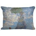 "Promenade Woman by Claude Monet Decorative Baby Pillowcase - 16""x12"""