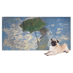 Promenade Woman by Claude Monet Pet Towel