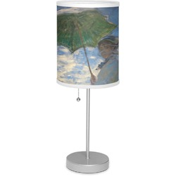 """Promenade Woman by Claude Monet 7"""" Drum Lamp with Shade"""