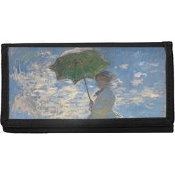 Promenade Woman by Claude Monet Canvas Checkbook Cover