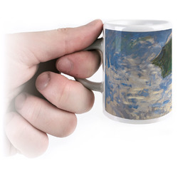 Promenade Woman by Claude Monet Espresso Mug - 3 oz